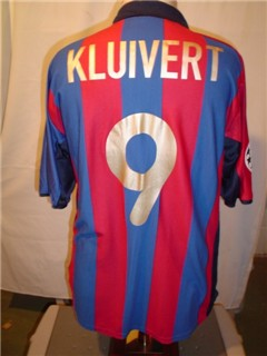 Barca Home CL Match Worn vs. RM May 2002 Kluivert.jpg
